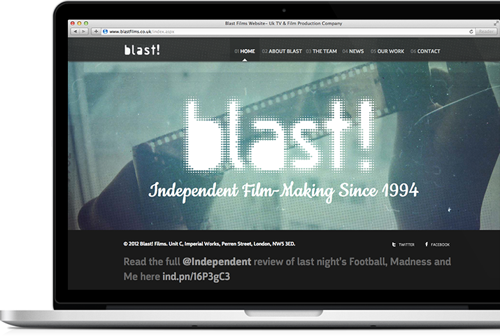 Blast Films - Macbook