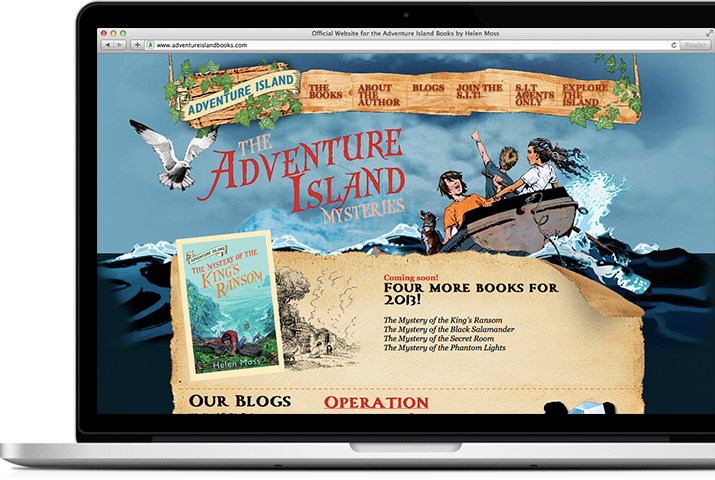 Adventure Island Books - Macbook